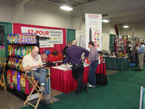 EZ POUR was at the 2013 Wheatbelt Show. Thank you to everyone who stopped by our booth!